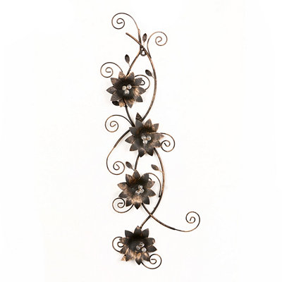 Sophie Metal Wall Plaque