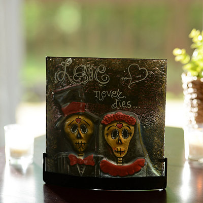 Day of the Dead Tealight Candle Holder