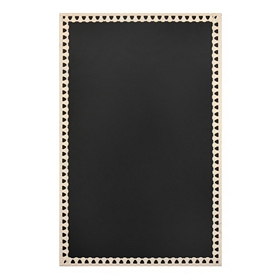 Cream Metal Chalkboard