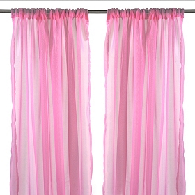 Karinna Soft Pink Curtain Panel Set, 84 in.
