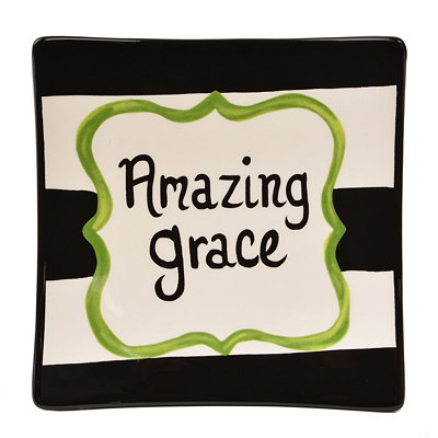 Amazing Grace Decorative Plate