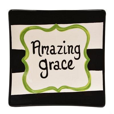 Amazing Grace Decorative Plate
