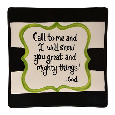 Call to Me Decorative Plate