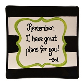 Great Plans Decorative Plate