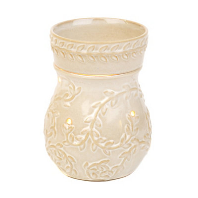 Cream Vine Wax Warmer