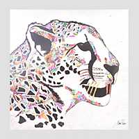 Safari Leopard Canvas Art Print