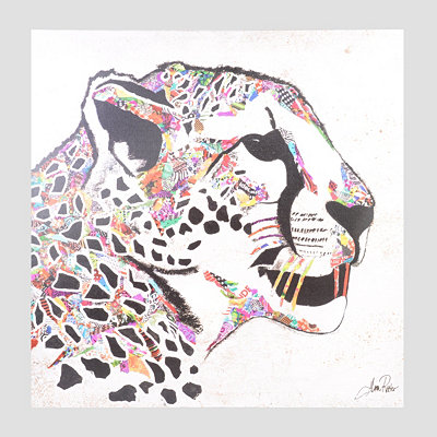 Safari Leopard Canvas Art Print
