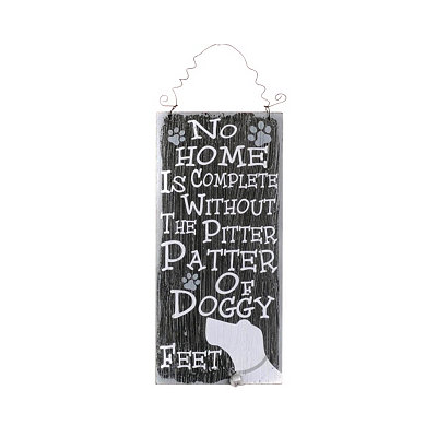 No Home Is Complete Wall Plaque