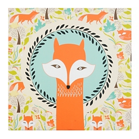 Foxy Fox Canvas Art Print
