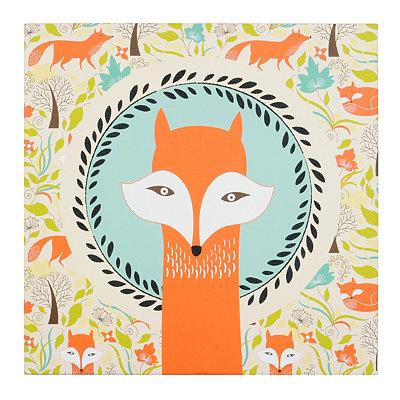 Foxy Fox Canvas Art Print