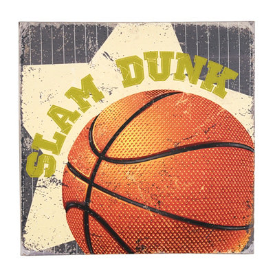 Slam Dunk Canvas Art Print