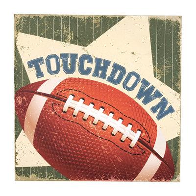 Touchdown Canvas Art Print