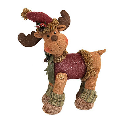Tabletop Plush Reindeer
