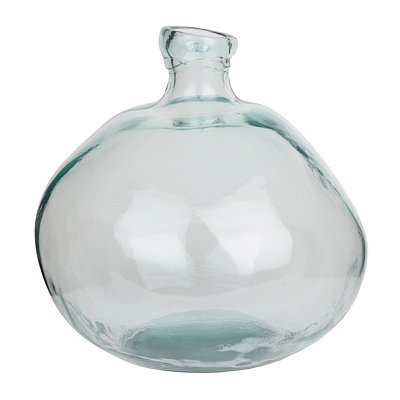 Clear Spanish Glass Vase