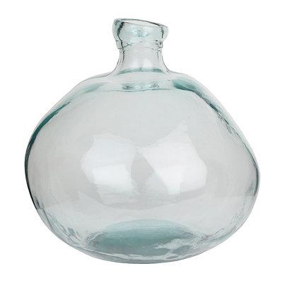 Clear Spanish Glass Vase