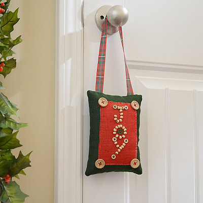 Rustic Joy Door Hanger