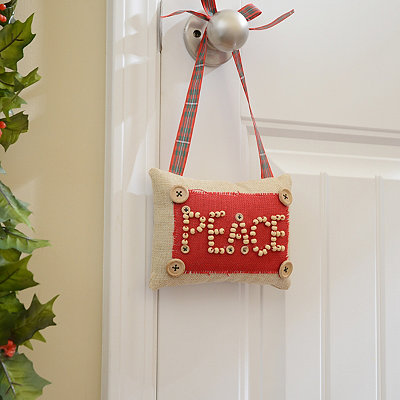 Rustic Peace Door Hanger