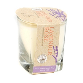 Lavender Rose Natural Candle