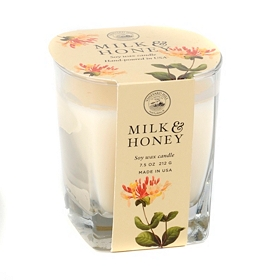 Milk and Honey Natural Candle