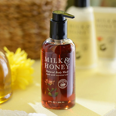 Milk and Honey Natural Hand and Body Wash