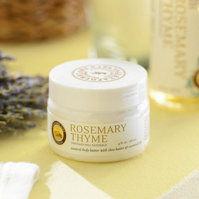 Rosemary Thyme Natural Body Butter