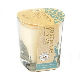 Rosemary Thyme Natural Candle