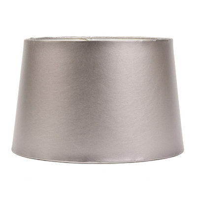 Silver Leather Hardback Shade