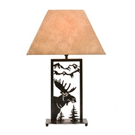 Wild Moose Table Lamp