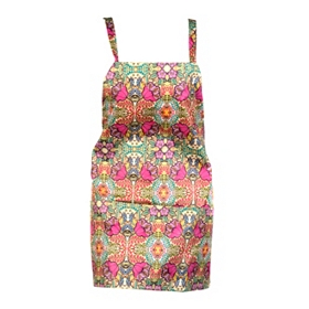Multicolor Rhapsody Hip Apron