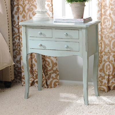 Chloe Blue Accent Table