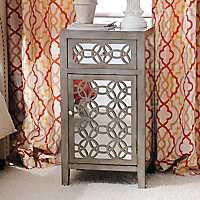 Libby Silver Mirrored Cabinet