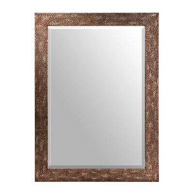 Dundee Brown Beveled Mirror