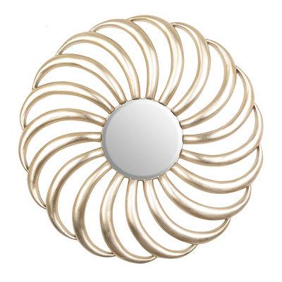 Carlisle Champagne Spiral Mirror
