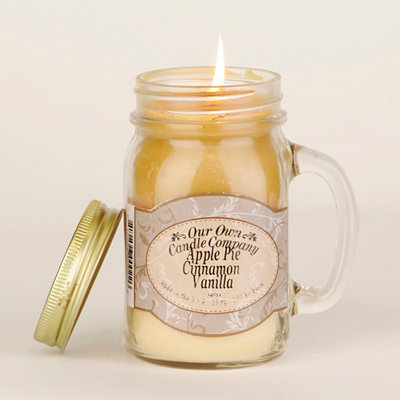 Cinnamon Apple Pie Mason Jar Candle