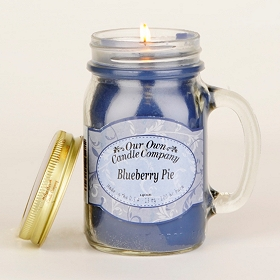 Blueberry Pie Mason Jar Candle