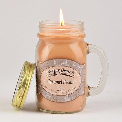 Caramel Pecan Mason Jar Candle
