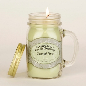 Coconut Lime Mason Jar Candle