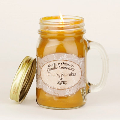 Country Pancakes Mason Jar Candle