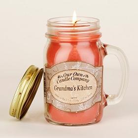 Grandma's Kitchen Mason Jar Candle
