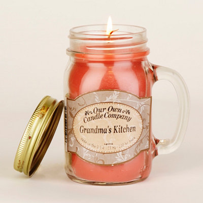 Grandma's Kitchen Mason Jar Candle