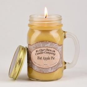 Apple Pie Mason Jar Candle