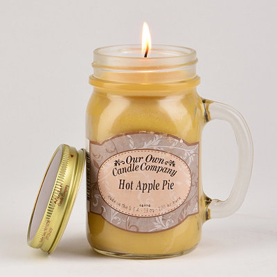 Apple Pie Mason Jar Candle