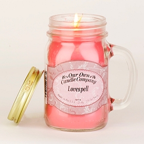 Lovespell Mason Jar Candle