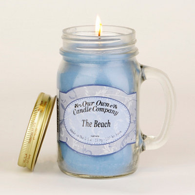 The Beach Mason Jar Candle