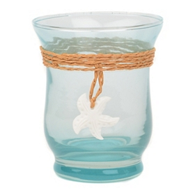 Hourglass Starfish Votive Holder