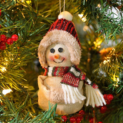 Chilly Snowman Ornament