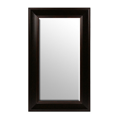 Dark Bronze Framed Mirror, 29x49