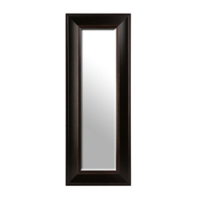 Dark Bronze Framed Mirror, 20x50