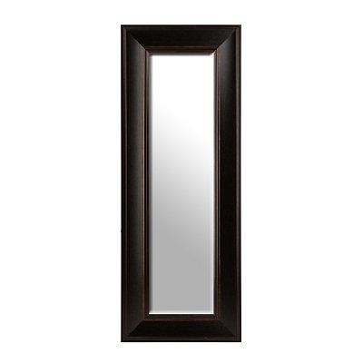 Dark Bronze Framed Mirror, 20x50