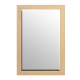Cream Driftwood Framed Mirror, 37x56